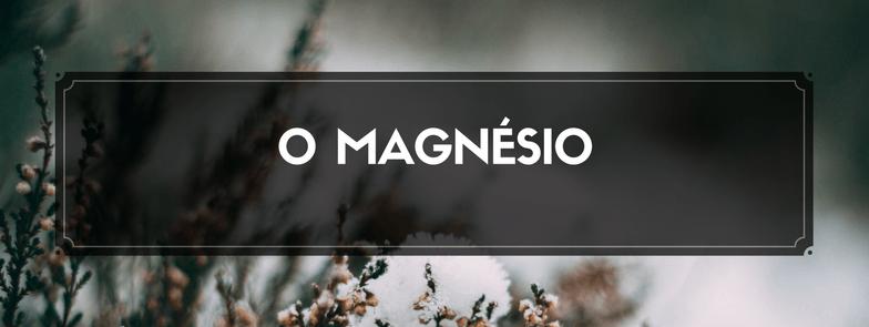 O magnésio