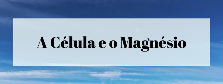 A Célula e o Magnésio