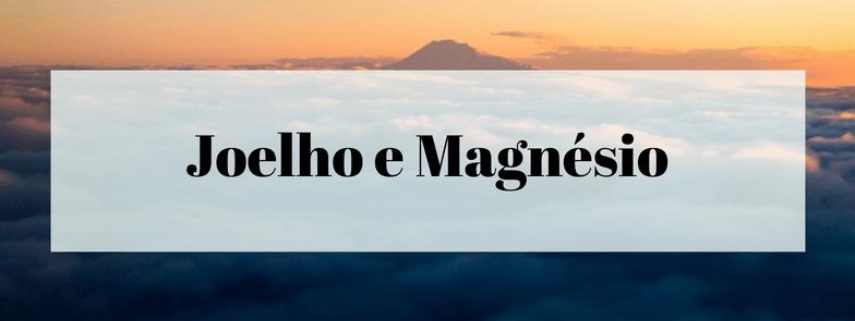 Joelho Valgus, Joelho Varus e o Magnésio