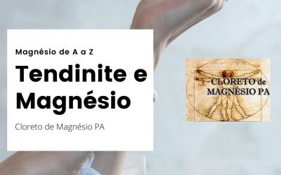 Tendinite e Magnésio – Magnésio de A a Z